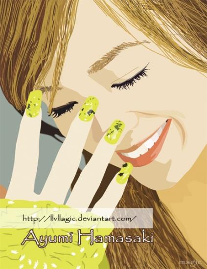 Ayumi Hamasaki por magic